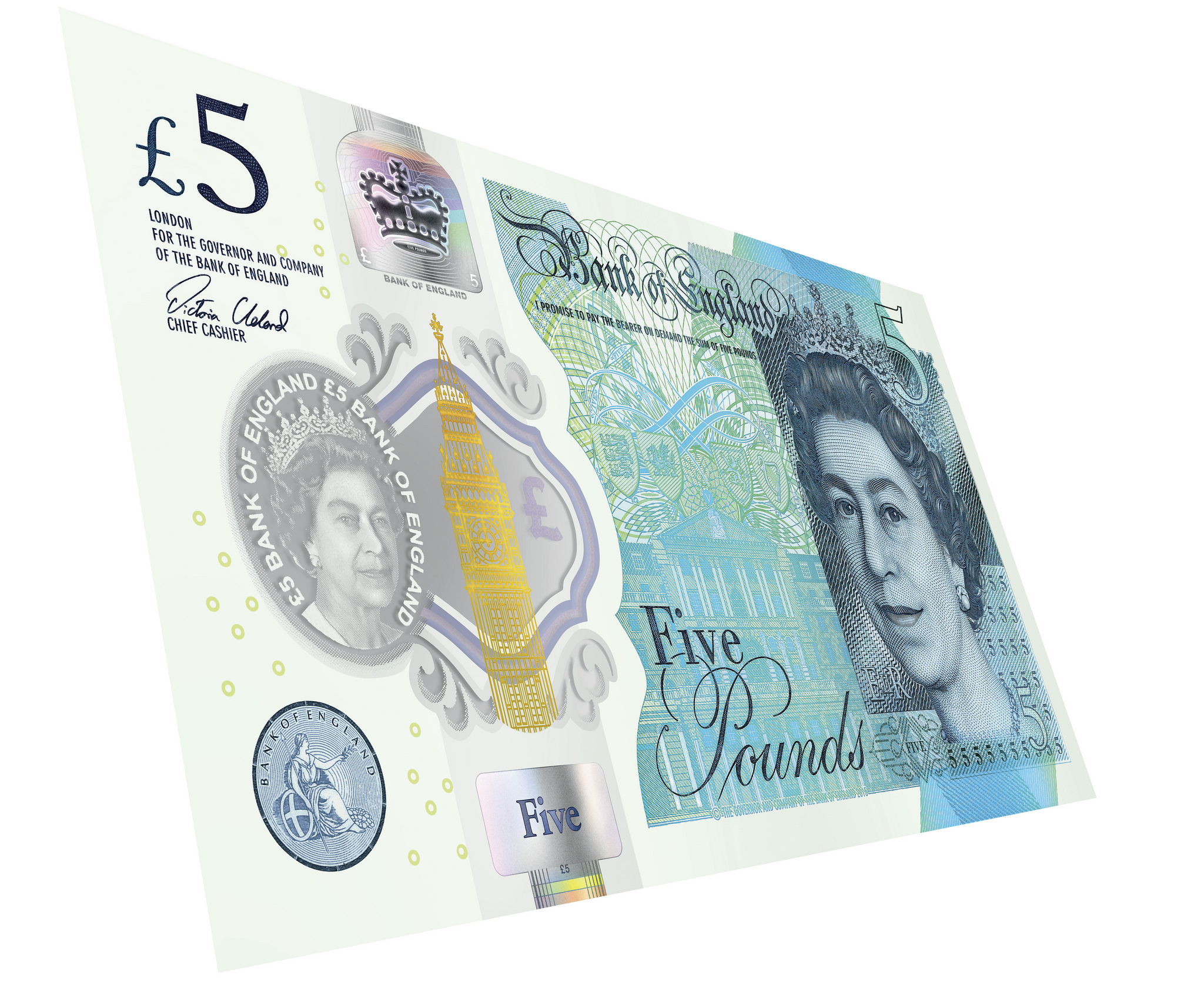 One week to go for old fivers as legal tender