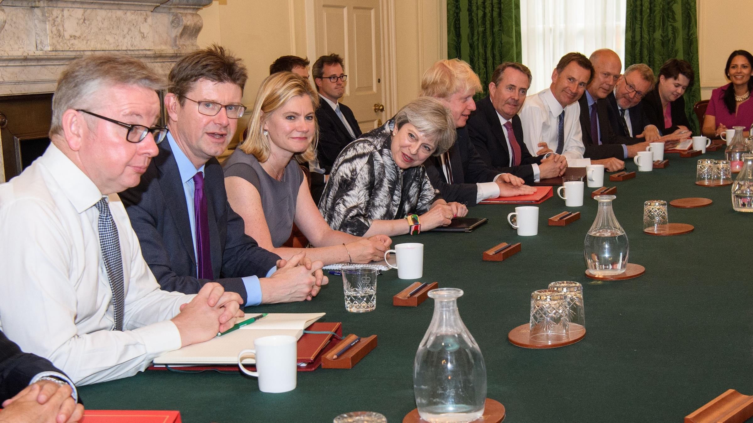 """Senior UK Cabinet ministers offer support to prime minister"""""""