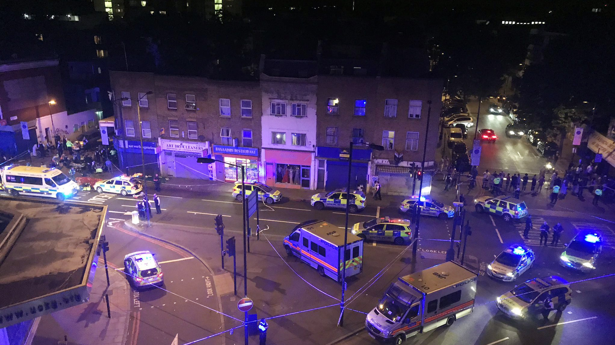 'Number of casualties' after vehicle strikes London pedestrians